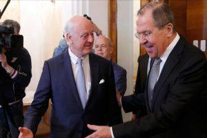 انطلاق الجولة الخامسة من مفاوضات جنيف غدا الجمعة بحضور دي ميستورا