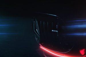 تفاصيل جديدة عن نشر شركة مرسيدس لصورة تشويقيه لسيارتها الرياضية الجديدة من AMG