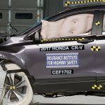 بالصور حصول هوندا CR-V 2017 على جائزة أفضل اختيار سلامة من IIHS