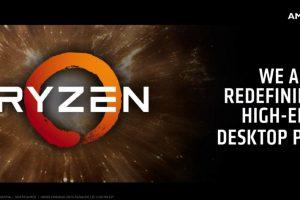 توفر معالجات Ryzen 7 في الأسواق من قبل AMD
