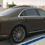 معلومات عن وصول نسخة خاصة من سيارة مرسيدس S Guard إلى السعودية بالصور