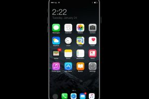 تصميم فية إنحناءات سوف يأتي خاص بهاتف iPhone 8 القادم