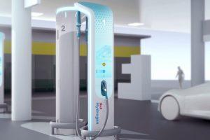 تصورات شركة BMW محطات تعبئة هيدروجينية للمستقبل بالصور