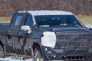 صور تجسسية لسيارة جي إم سي سييرا وموعد الكشف الرسمي عنها