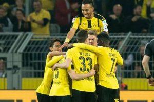 تقرير مباراة بوروسيا تورتموند وهامبورغ ضمن مباريات الجولة 27 من الدوري الالماني