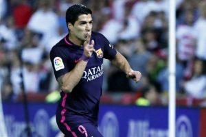 فوز نادي برشلونة على غرناطة ضمن مباريات الجولة 29 من الليغا الاسبانية