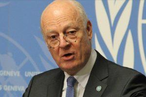 الأمم المتحدة تمدد عمل مبعوثها الخاص إلى سوريا حتى انتهاء مهمته في جنيف