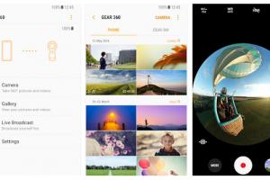 تطبيق Gear 360 الخاص بكاميرا الواقع الإفتراضي متاح الأن للتحميل
