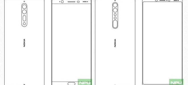 معلومات جديدة وصورة تخطيطية لهاتف Nokia 8 و Nokia 9