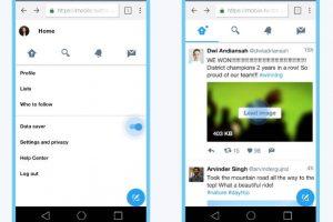 نسخة تويتر التي تستهلك بيانات الهاتف بشكل أقل Twitter Lite