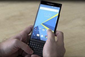 جوجل تمنح هواتف  BlackBerry PRIV الدرجة الكاملة من حيث الأمان