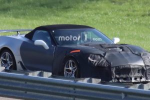صور بدء اختبار سيارة كورفيت ZR1 عالية الأداء من شيفرولية