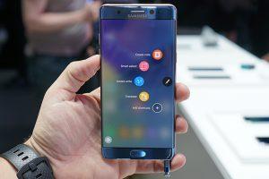 تقرير جديد يوضح حجم شاشة Galaxy Note 8