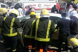 فاجعة بلقرن بالتفاصيل كاملة .. مقتل ثلاثة وإصابة ستة من نفس العائلة جراء الحادث المروري وتصريحات هيئة الهلال الأحمر