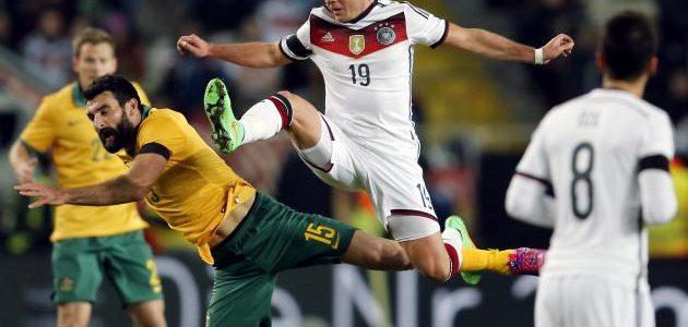 نتيجة مباراة ألمانيا وأستراليا اليوم على ملعب استاد فيشت الأوليمبي في كأس القارات 2017 وملخص أهداف لقاء المانشافت