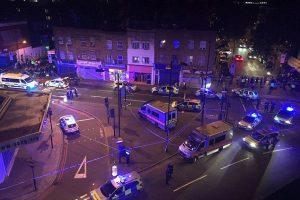 مقتل وإصابة العشرات من الأشخاص بعد حادث دهس مصلين شمال لندن بالقرب من مسجد فينسبري بارك