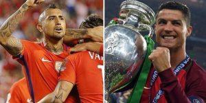 مباراة البرتغال وتشيلي