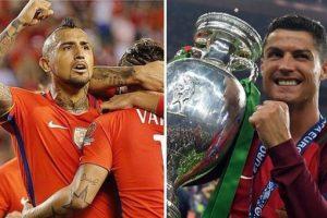 موعد مباراة البرتغال وتشيلي في كأس القارات مع القنوات الناقلة ومعلق لقاء الدون كريستيانو رونالدو