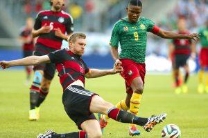 ملخص اهدافمباراة المانيا والكاميرون اليوم في كأس القارات 2017 ونتيجة لقاء الماكينات بالتفوق بثلاثية كاملة