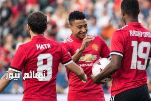 نتيجةمباراة مانشستر يونايتد وريال سالت ليك اليوموملخص فوز الشياطين الحمر بثنائية وتألق لوكاكو
