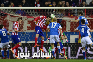 نتيجةمباراة اتلتيكو مدريد ونابولي اليوم وملخص فوز الروخي بلانكوس أمام البارتينوبي بهدفين لواحد 2-1