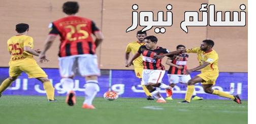 نتيجةمباراة القادسية والرائد اليوم وملخص أهداف لقاءفارس الشرقية أمام رائد التحدي في الدوري السعودي