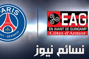 نتيجةمباراة باريس سان جيرمان وجانجون اليوم وملخص لقاء النجم البرازيلي نيمار في أول لقاء في الدوري الفرنسي