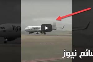 بالفيديو .. مطار الملك عبدالله الدولي بجازان يشهد أول رحلة تجريبية لطائرة شركة طيران أديل