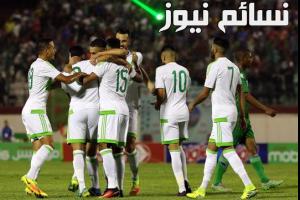 نتيجةمباراة الجزائر وزامبيا اليوم في تصفيات كأس العالم على استاد هيروز الوطني وملخس سقوط محاربو الصحراء