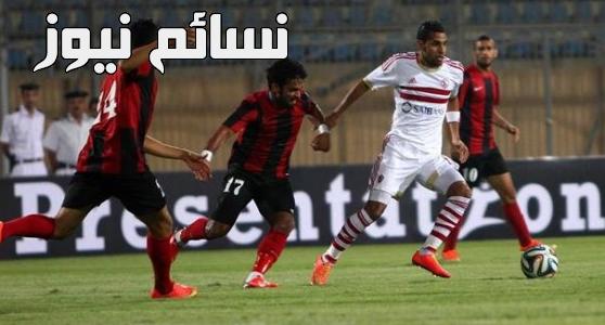 نتيجة مباراة الزمالك والداخلية اليوم وملخص اهداف فوز القلعةالبيضاء على استاد بترو سبورت في الدوري المصري بثلاثية نظيفة
