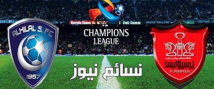 نتيجةمباراة الهلال وبيروزي اليوم في ذهاب نصف نهائي دوري أبطال آسيا وملخص فوز الزعيم الكبير أمام بيرسبوليسبتألق المبدع خربين