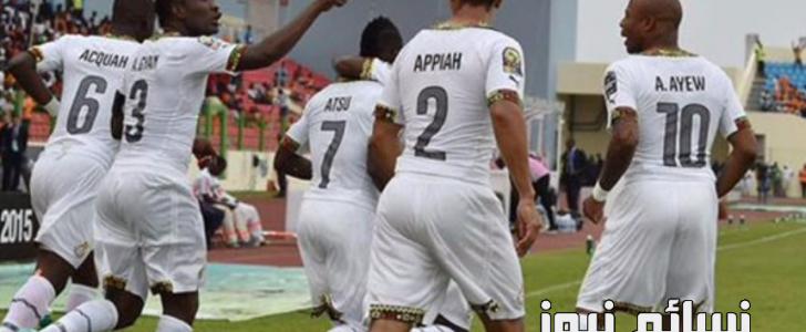 نتيجة مباراة غانا والكونجو اليوم وملخص فوز البلاك ستارز الكاسح فيتصفيات كأس العالم لمنطقة أفريقيا والمصريون يرقبون