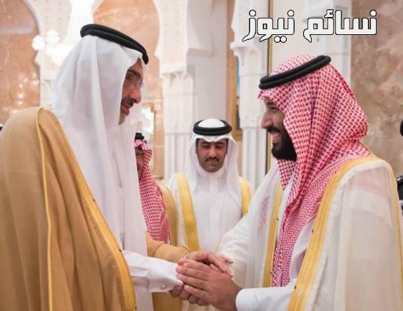 الأمير محمد بن سلمان والشيخ عبدالله آل ثاني
