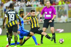 نتيجةمباراة الهلال والاتحاد اليوم الخميس في قمة الدوري السعودي وملخص التعادل الإيجابي للزعيم أمام العميدفي الدوري السعودي