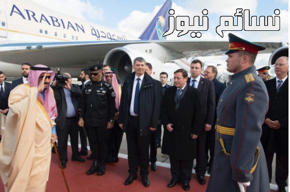 صور الملك سلمان روسيا