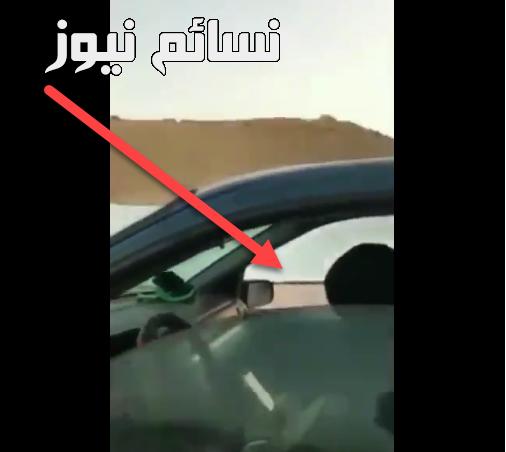 المقطع كاملا .. فيديو يوثق إنتهاء شخص خصوصية سيدة في سيارة عائلة ووسم شاب_يعتدي_علي_قايده_سياره يتصدر الترند