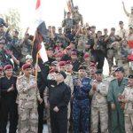 حيدر العبادي : الإنتصارات في قضاء القائم جاءت بأيادي عراقية