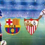 موعد مباراة برشلونة واشبيلية اليوم السبت 4-11-2017 الدوري الأسباني معلق والقنوات الناقلة