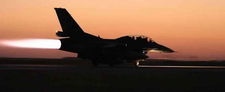 مقاتلات التحالف العربي تشن غارات كثيفة على عدد من المواقع في العاصمة اليمنية صنعاء