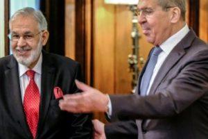 لافروف يعلن تعهد بلاده بالعمل للتوصل إلى اتفاق لإنهاء الأزمة السياسية في ليبيا