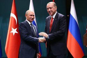 أردوغان يعرب عن شكره للرئيس الروسي لدعم القرارات المتعلقة بالقدس في مجلس الأمن والأمم المتحدة