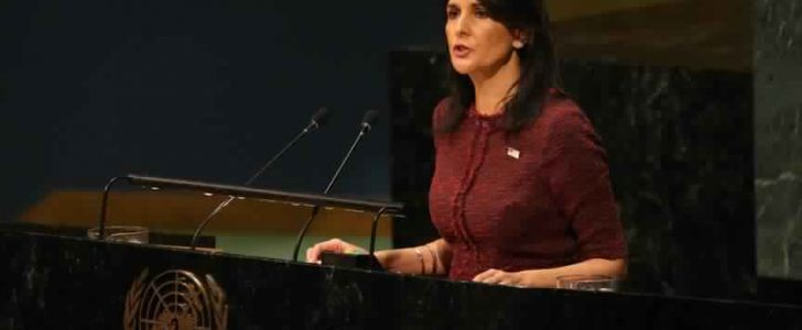 الولايات المتحدة الأمريكية تهدد الدول الأعضاء في الأمم المتحدة قبيل جلسة التصويت على قرار القدس
