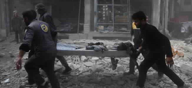 الصليب الأحمر والهلال الأحمر السوري يعلنان بدء إجلاء الإصابات الحرجة إلى خارج الغوطة الشرقية