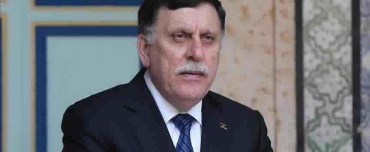 وزير الخارجية الفرنسي يعلن دعم بلاده لإجراء الانتخابات الليبية العام المقبل خلال لقائه بفائز السراج