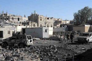 التحالف العربي يدعو لتهدئة المواجهات التي تشهدها مدينة عدن مع اقترابها من القصر الرئاسي