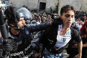 اعتقال سبعة عشر فلسطينيا في الضفة الغربية على أيدي جيش الاحتلال الإسرائيلي