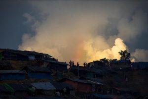 تجدد أعمال إشعال الحرائق في منازل أقلية الروهينجا المسلمة في إقليم أركان