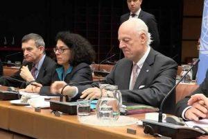 انطلاق الجولة التاسعة من محادثات السلام  السورية بمقر الأمم المتحدة في العاصمة النمساوية