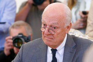 دي مسيتورا يعلن عن إجراء جولة جديدة من المحادثات السورية الأسبوع المقبل في النمسا