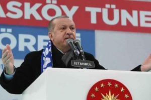 الرئيس التركي يشير إلى استمرار استخدام داعش كذريعة لتكديس الأسلحة في سوريا